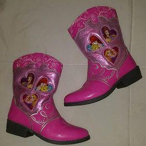 Disney Princess Boots